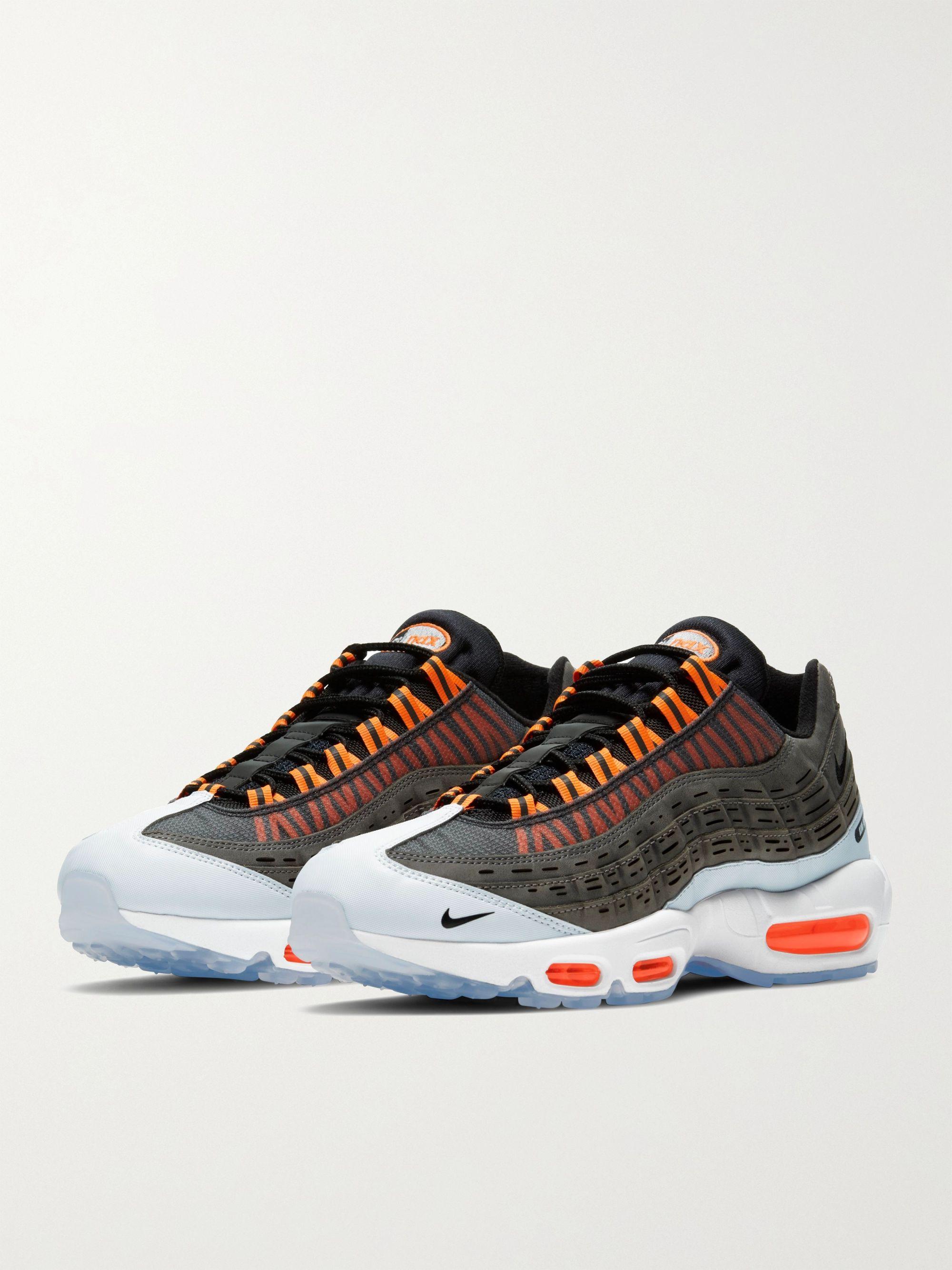 NIKE Kim Jones Air Max 95 Rubber-Trimmed Mesh Sneakers