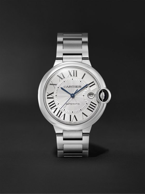 CARTIER Ballon Bleu de Cartier Automatic 40mm Stainless Steel Watch, Ref. No. WSBB0040