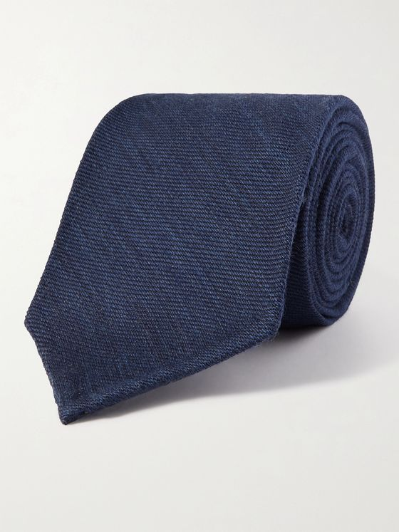 RUBINACCI 7cm Wool and Silk-Blend Tie