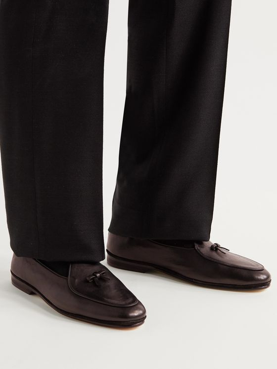 RUBINACCI Marphy Leather Tasselled Loafers
