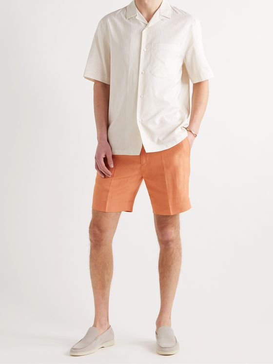 RUBINACCI Cotton-Twill Bermuda Shorts