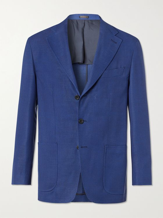 RUBINACCI Virgin Wool Blazer