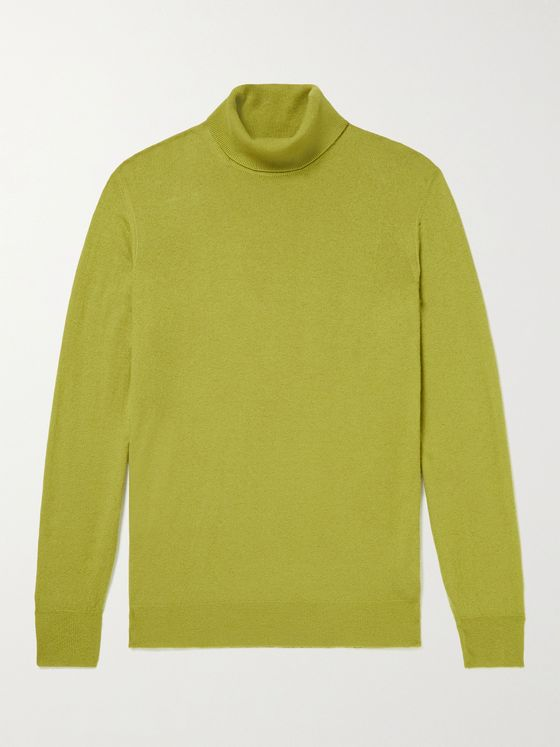 LORO PIANA Dolcevita Baby Cashmere Rollneck Sweater