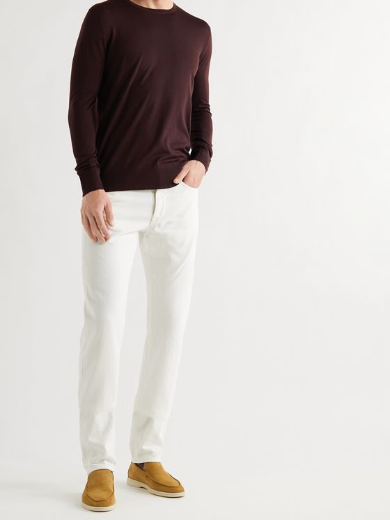 LORO PIANA Wish Virgin Wool Sweater