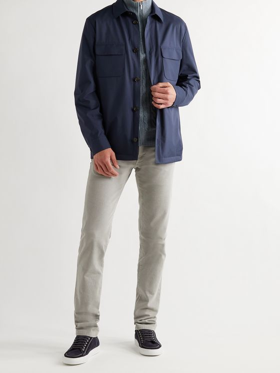 LORO PIANA WindWish Overshirt