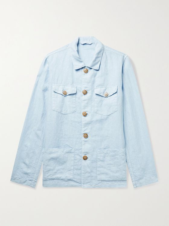 ALTEA Linen Shirt Jacket