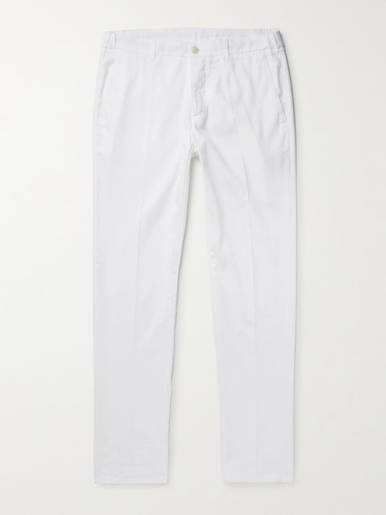 ALTEA Dumbo Linen-Blend Trousers