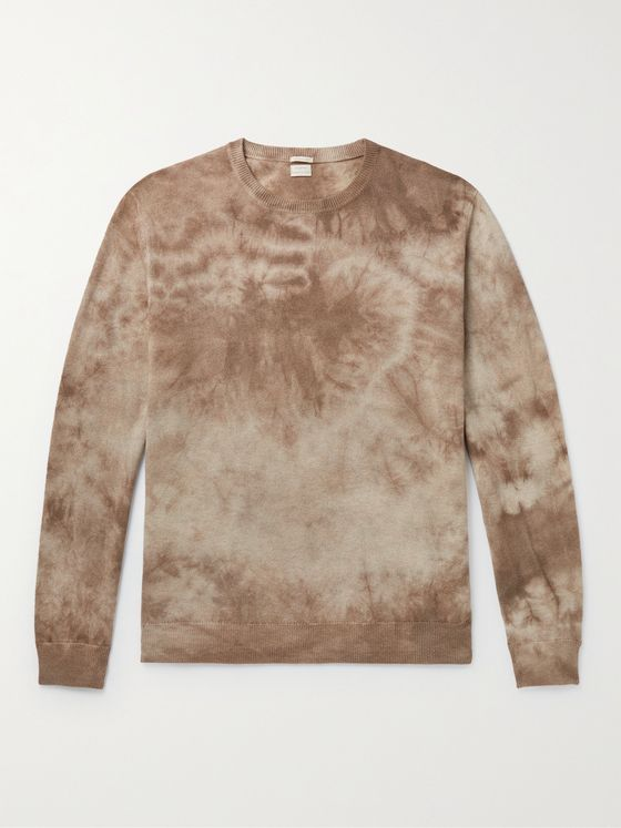 MASSIMO ALBA Alagna Tie-Dyed Cashmere Sweater
