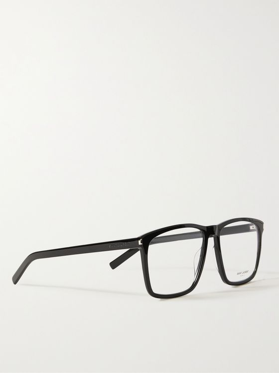 SAINT LAURENT Sqare-Frame Acetate Optical Glasses