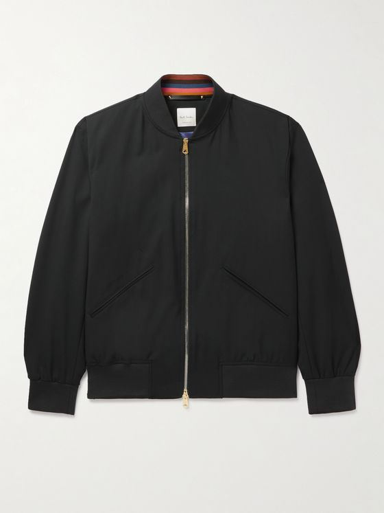 PAUL SMITH Wool Bomber Jacket