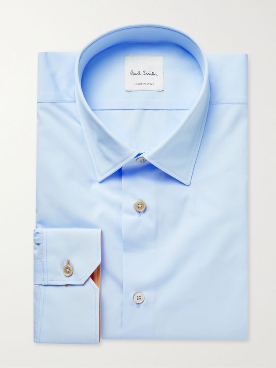 PAUL SMITH Soho Slim-Fit Cotton-Poplin Shirt