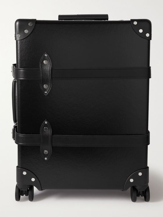 "GLOBE-TROTTER Centenary 20"" Leather-Trimmed Carry-On Suitcase"