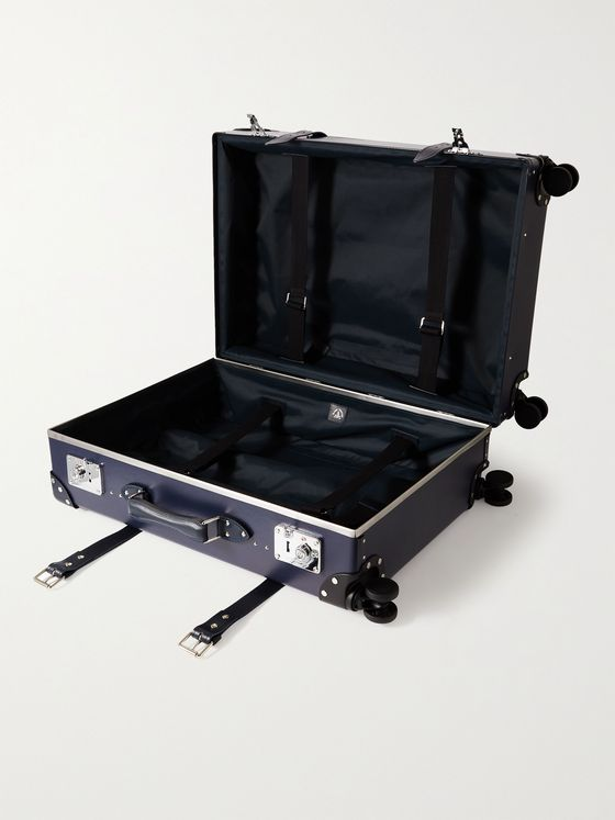 "GLOBE-TROTTER Centenary 30"" Leather-Trimmed Trolley Case"