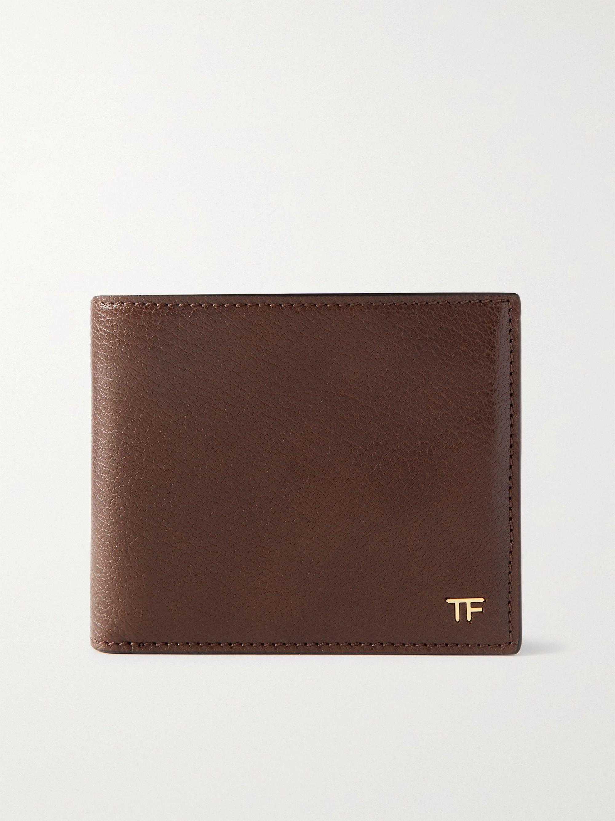 톰 포드 반지갑 Tom Ford Leather Billfold Wallet,Brown