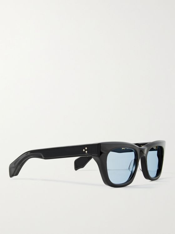 JACQUES MARIE MAGE + George Cortina Dealan Square-Frame Acetate Sunglasses