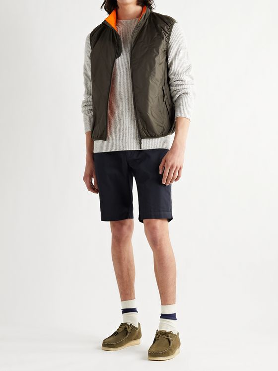 ASPESI Cotton-Gabardine Bermuda Shorts