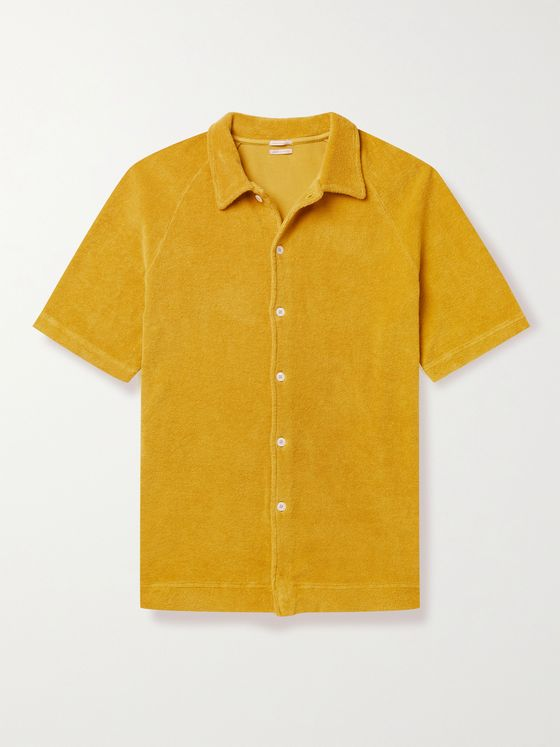 MASSIMO ALBA Cruiser Cotton-Terry Shirt