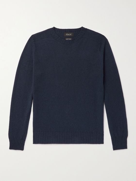 HOWLIN' Wool and Cotton-Blend Sweater