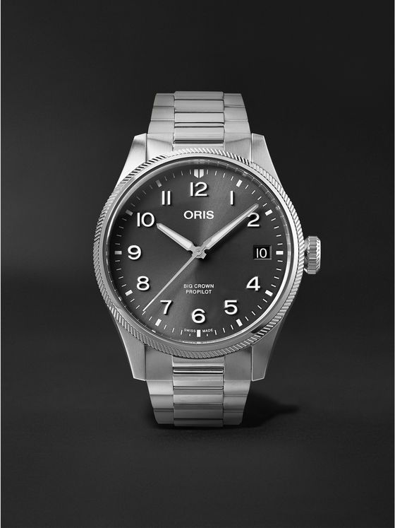 ORIS Big Crown ProPilot Big Date Automatic 41mm Stainless Steel Watch, Ref. No. 01 751 7761 4063-07 8 20 08P