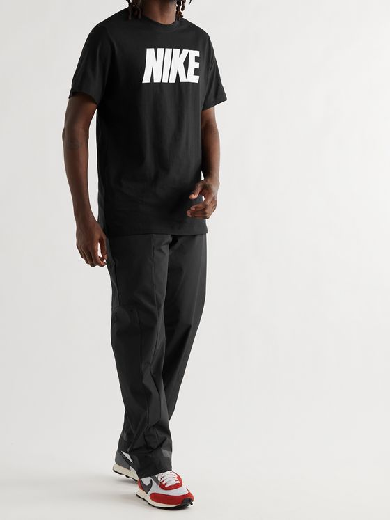 NIKE NSW Logo-Print Cotton-Jersey T-Shirt