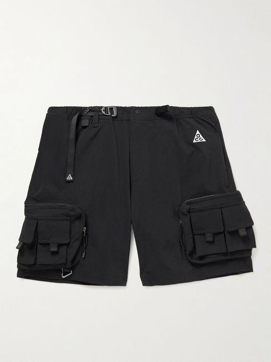 NIKE ACG NRG Wide-Leg Nylon-Blend Cargo Shorts