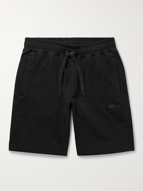 NIKE Sportswear Cotton-Jersey Drawstring Shorts