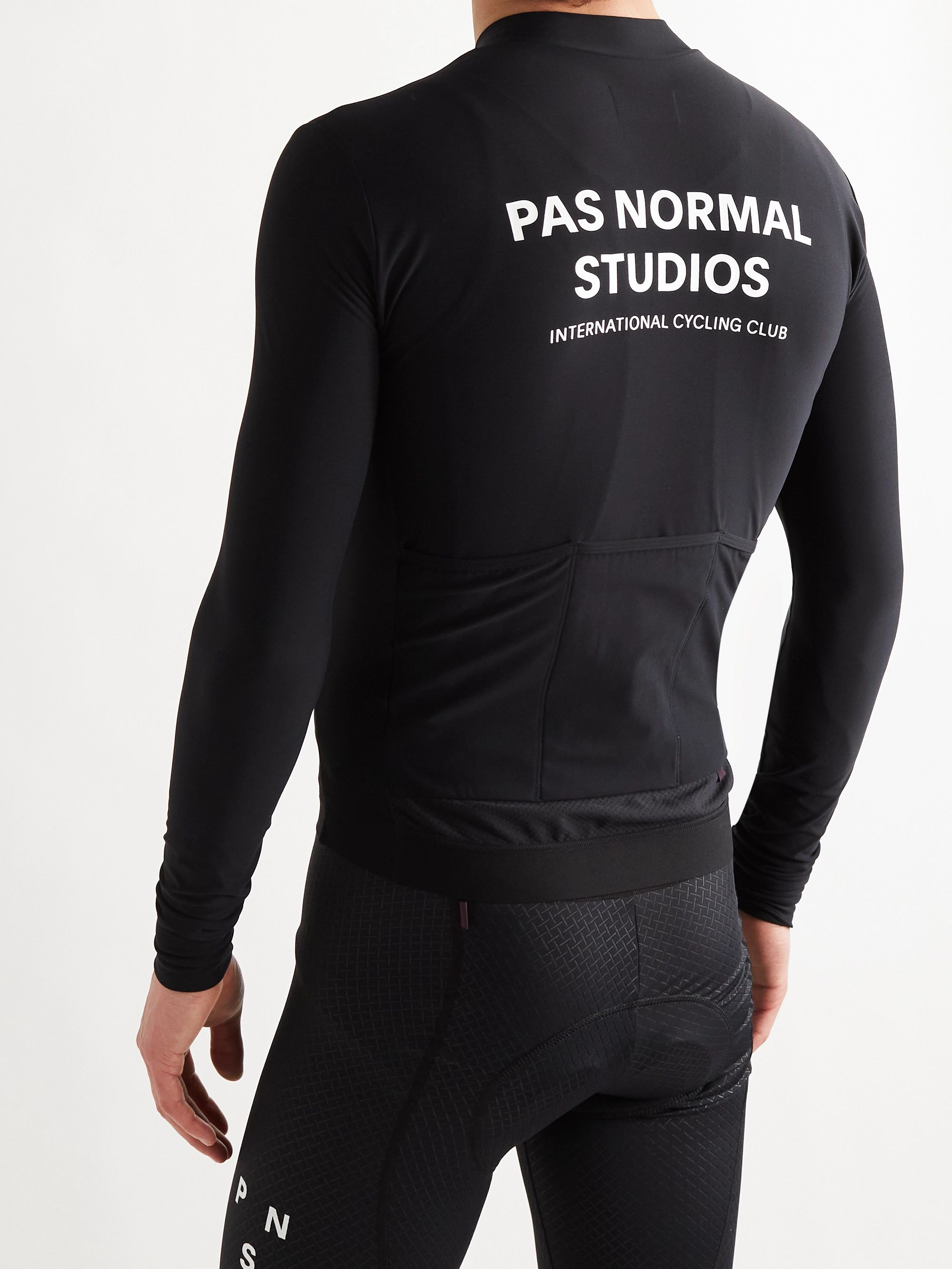 PAS NORMAL STUDIOS Logo-Print Cycling Jersey