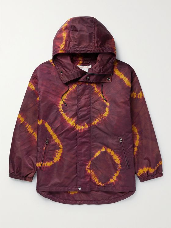 ACNE STUDIOS Ossi Tie-Dyed Nylon Hooded Jacket