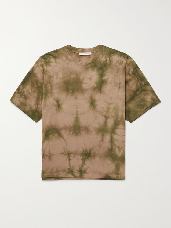 ACNE STUDIOS Kohto Oversized Printed Tie-Dyed Cotton-Jersey T-Shirt