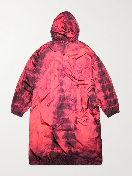 ACNE STUDIOS Oreti Tie-Dyed Nylon Hooded Jacket