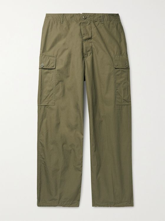 BEAMS PLUS Cotton-Ripstop Cargo Trousers