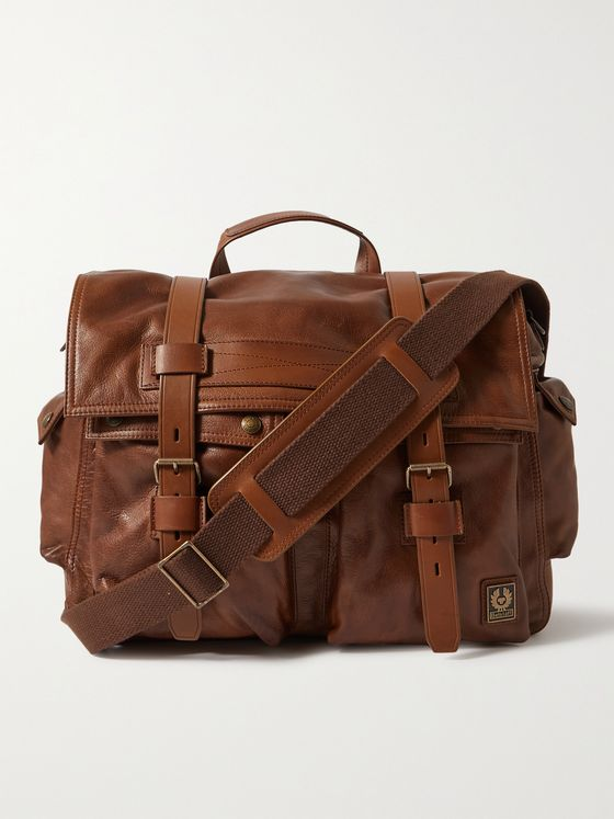 BELSTAFF Colonial Leather Messenger Bag