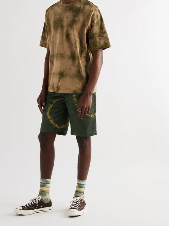 ACNE STUDIOS Tie-Dyed Nylon Shorts