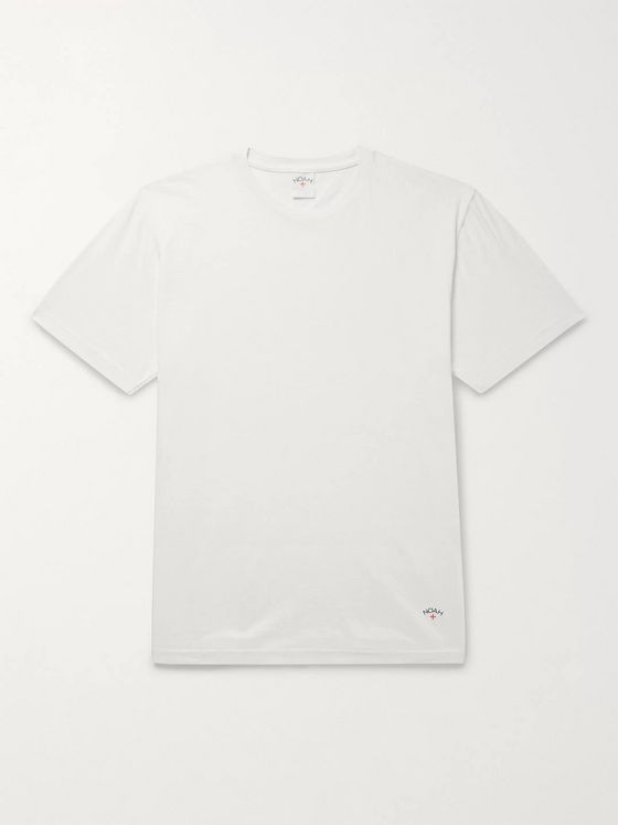 Noah Recycled Cotton-Jersey T-Shirt