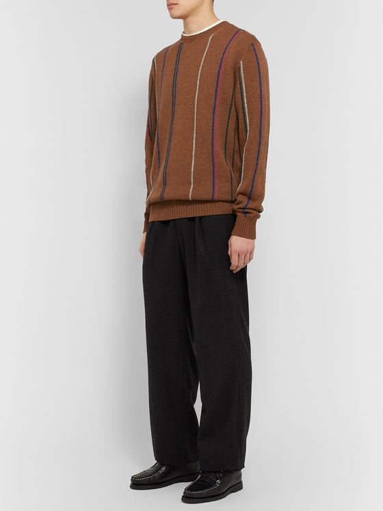 Noah Striped Wool Sweater