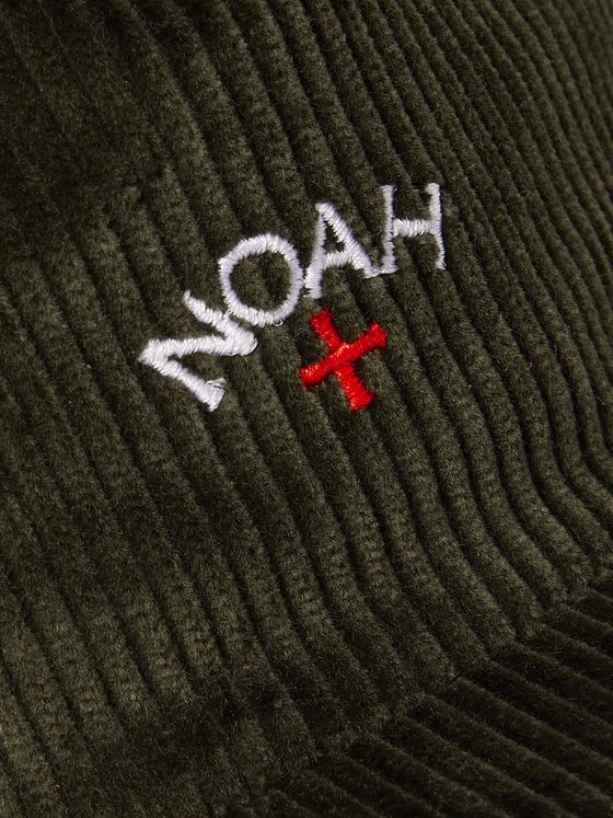 Noah Logo-Embroidered Cotton-Corduroy Baseball Cap