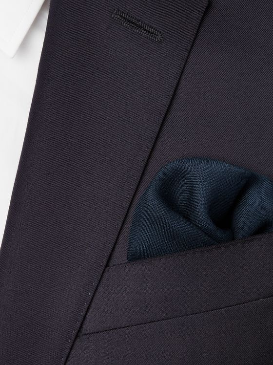 Kingsman + Drake's Wool and Silk-Blend Pocket Square
