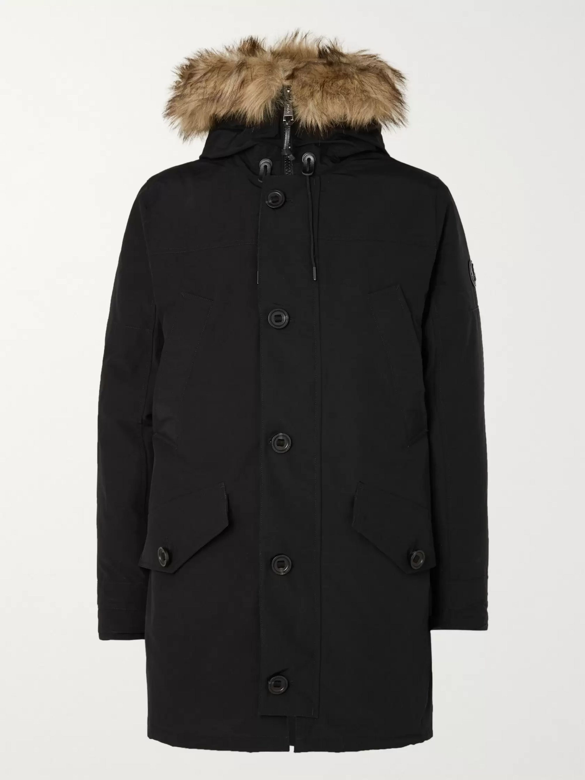 Polo Ralph Lauren Faux Fur-Trimmed Shell Hooded Down Parka