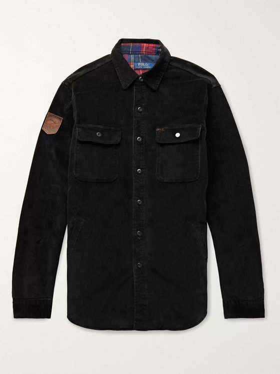 Polo Ralph Lauren Cotton-Blend Corduroy Shirt Jacket