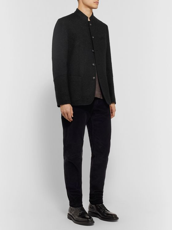 Massimo Alba Gstaad Brushed Wool-Blend Jacket