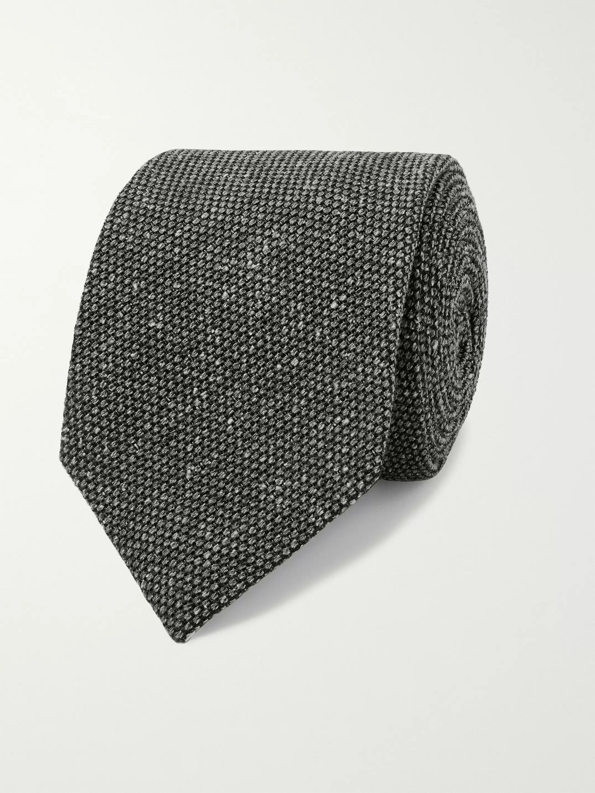 Kingsman + Drake's 8cm Silk and Wool-Blend Tie