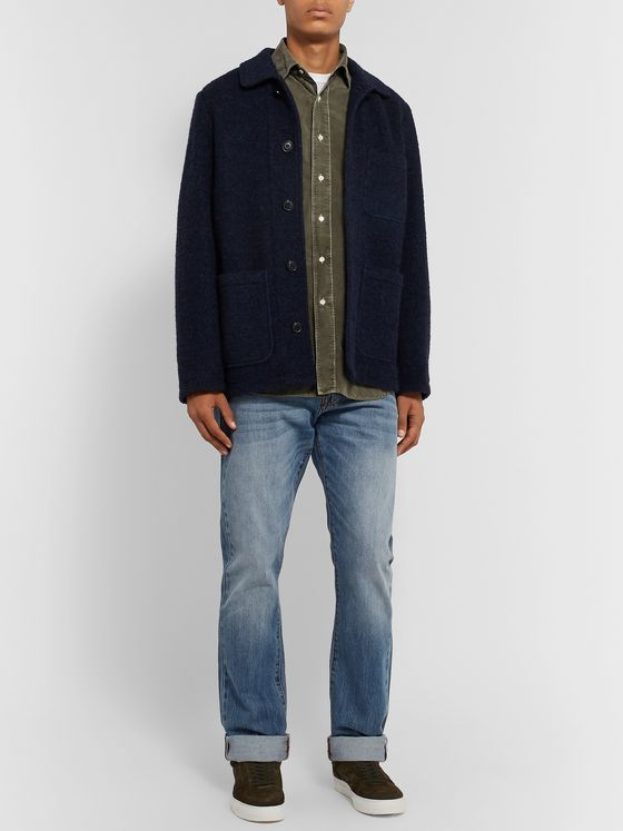 Aspesi Cotton-Corduroy Shirt