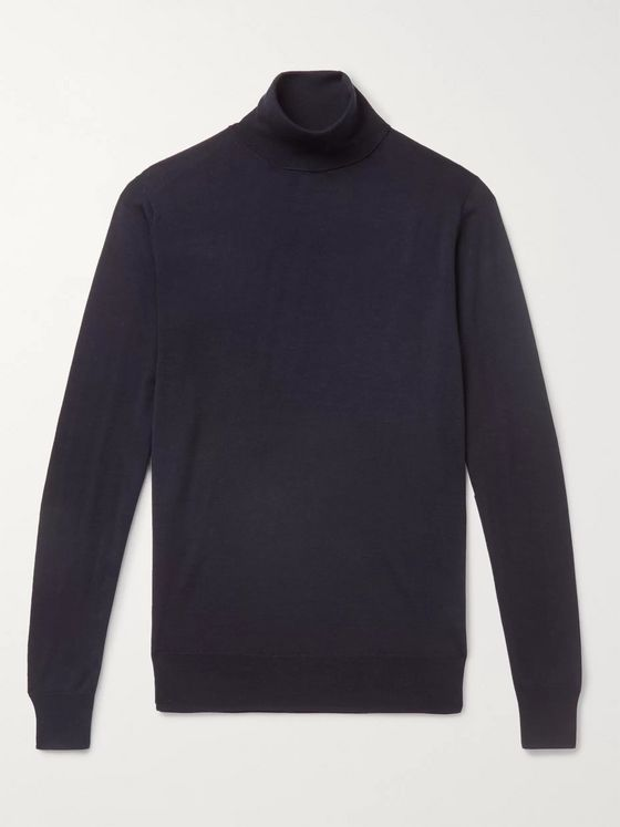 Aspesi Merino Wool Rollneck Sweater