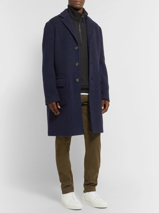 Aspesi Virgin Wool Overcoat