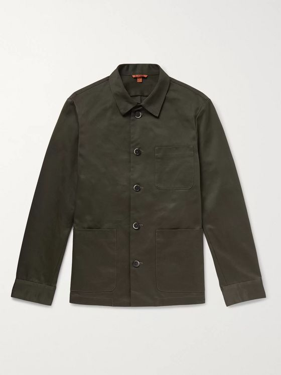 Barena Cotton-Drill Overshirt