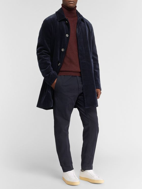 Aspesi Cotton-Corduroy Overcoat