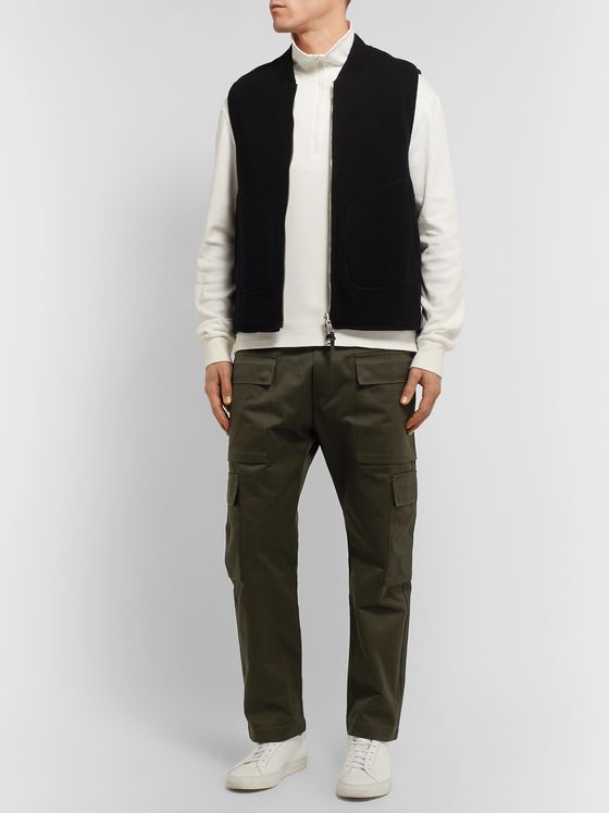 Barena Cotton-Twill Cargo Trousers