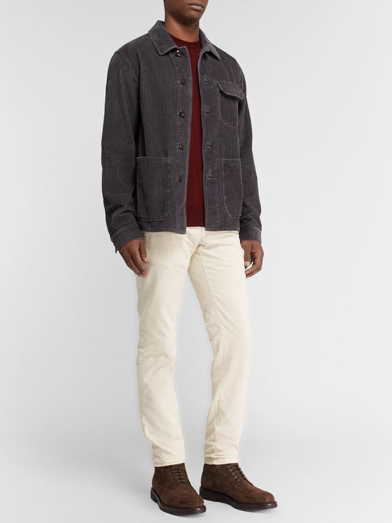 Incotex Cotton-Corduroy Chore Jacket