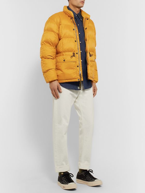 RRL Quilted Padded Nylon Jacket