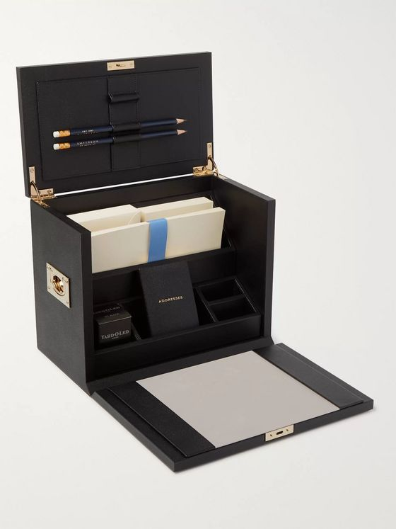 Kingsman + Smythson Leather Stationery Set